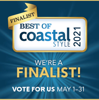 Best of Coastal Style Finalist Badge